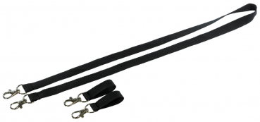 Neck strap and belt attachment accessories