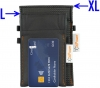 anti-theft-bag closed, for keyless go key, debit cards, identity card