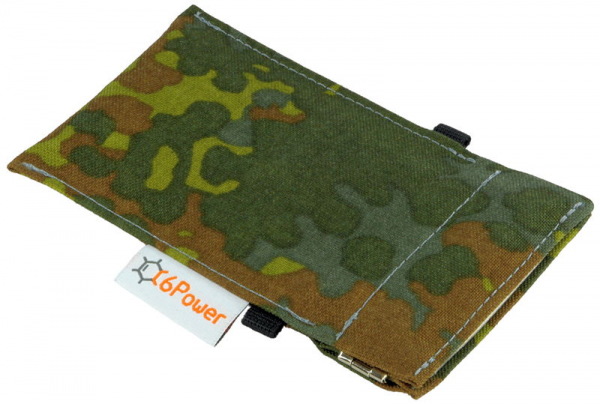 anti-theft-bag closed, for keyless go key, debit cards, identity card, color: camouflage