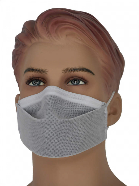 mouth-nose-mask 2/3 white